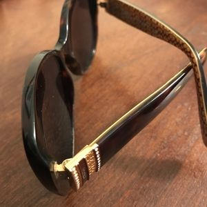 Coach sunglasses with case.
